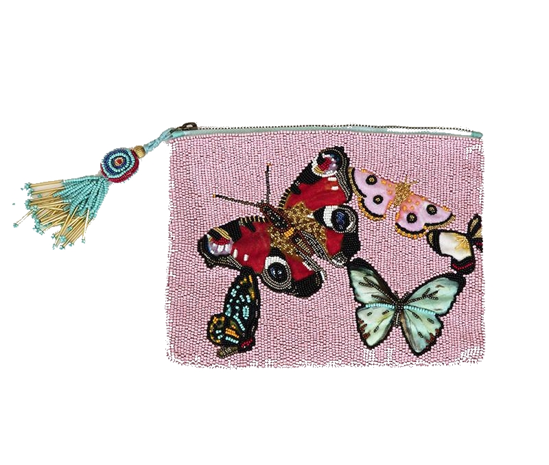 ashley longshore beaded clutch
