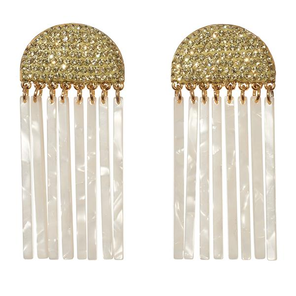 lele sadoughi 'crystal comb' earrings