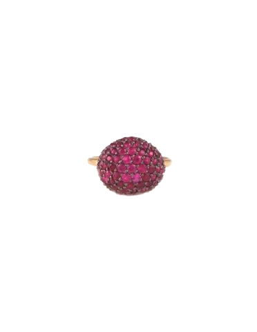 dream collective ruby + gold ring