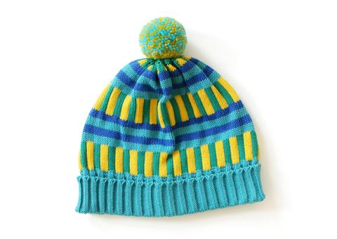 all knitwear turquoise knit hat