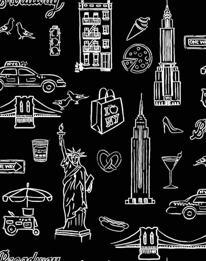 black + white nyc wallpaper