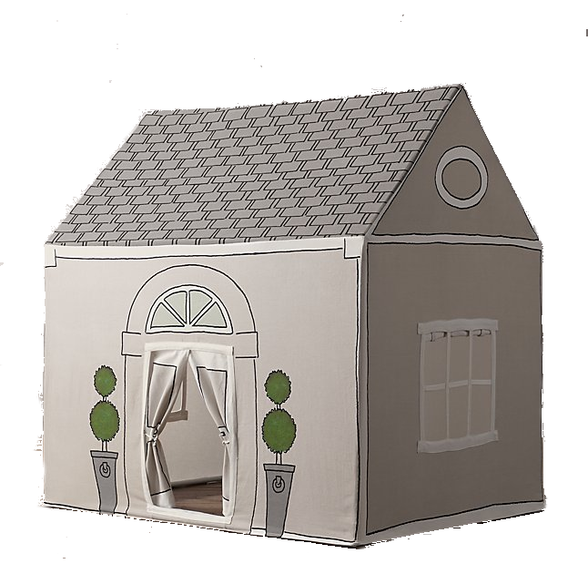 french inspired kids playhouse