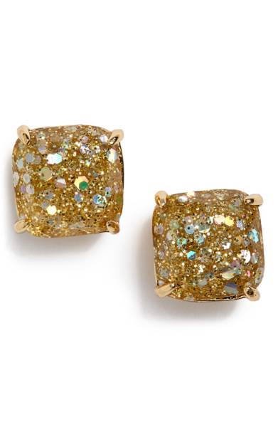 kate spade gold stud earrings