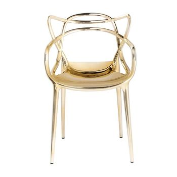 gold kartell masters chair