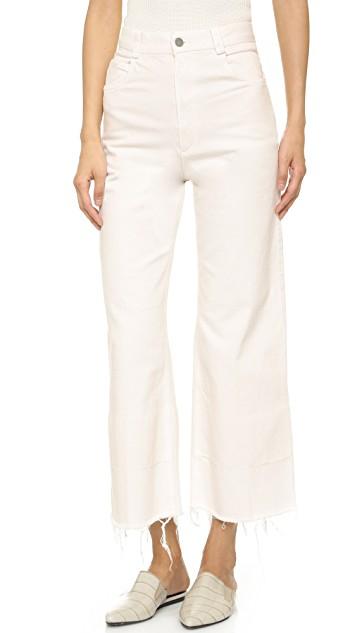 rachel comey whitewash jeans
