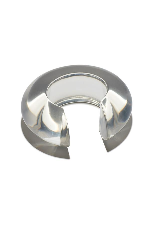 lizzie fortunato clear acrylic cuff