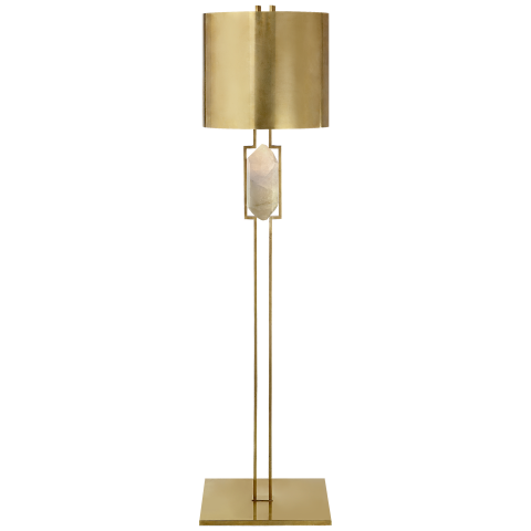 kelly wearstler brass floor lamp