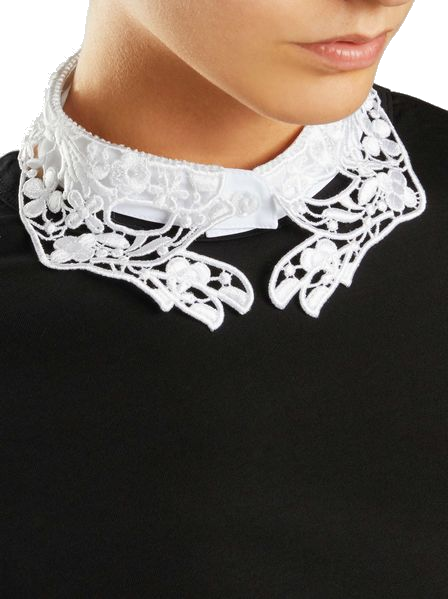 vivetta white hands collar