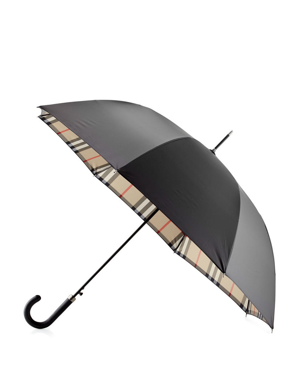 burberry classic black umbrella