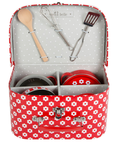 children's cooking play set
