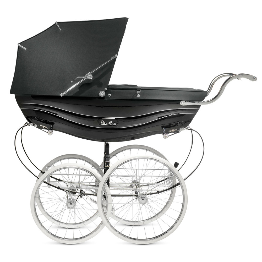 silver cross balmoral black pram