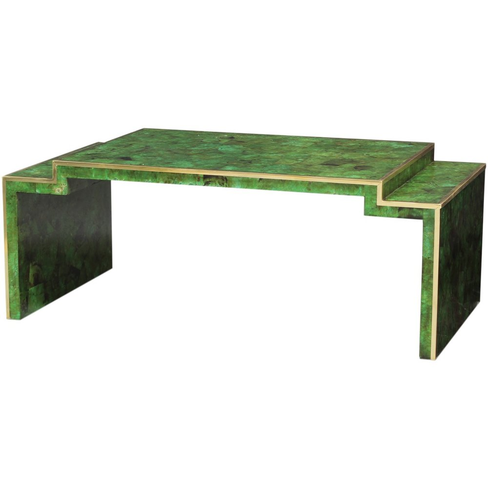 palecek emerald coffee table