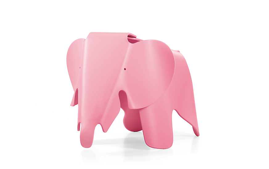 pink eames decorative elephant