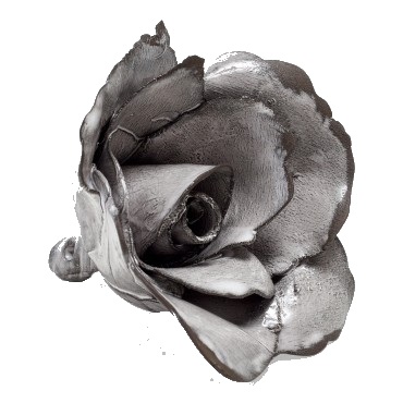 hand-made porcelain decorative rose