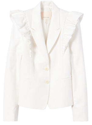 rebecca taylor white jacket