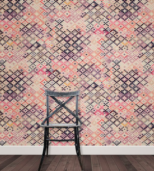 pink wallpaper - sold at supply