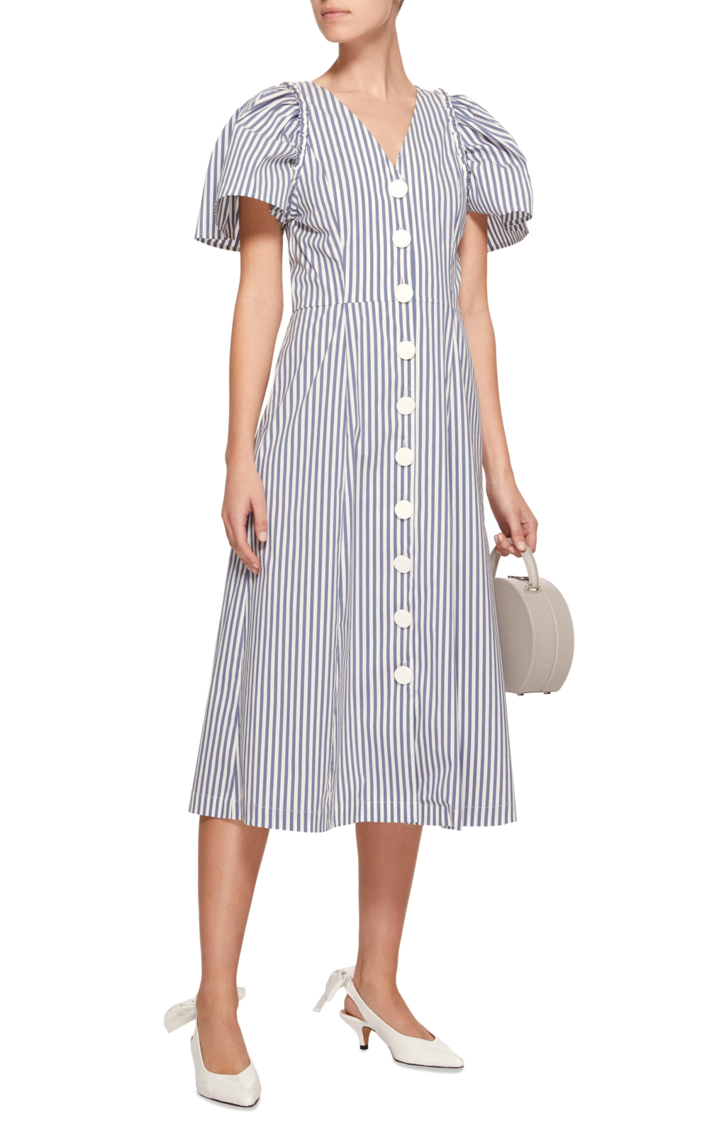 sea ny button-down dress