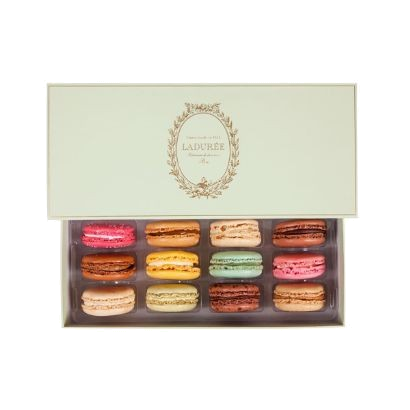 laduree paris box of 12 macarons