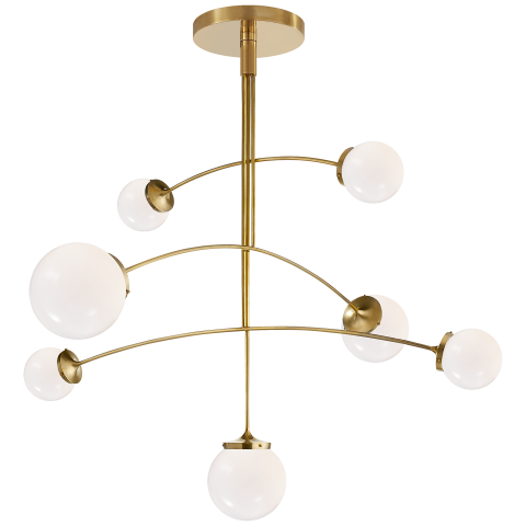 globe mobile pendant light