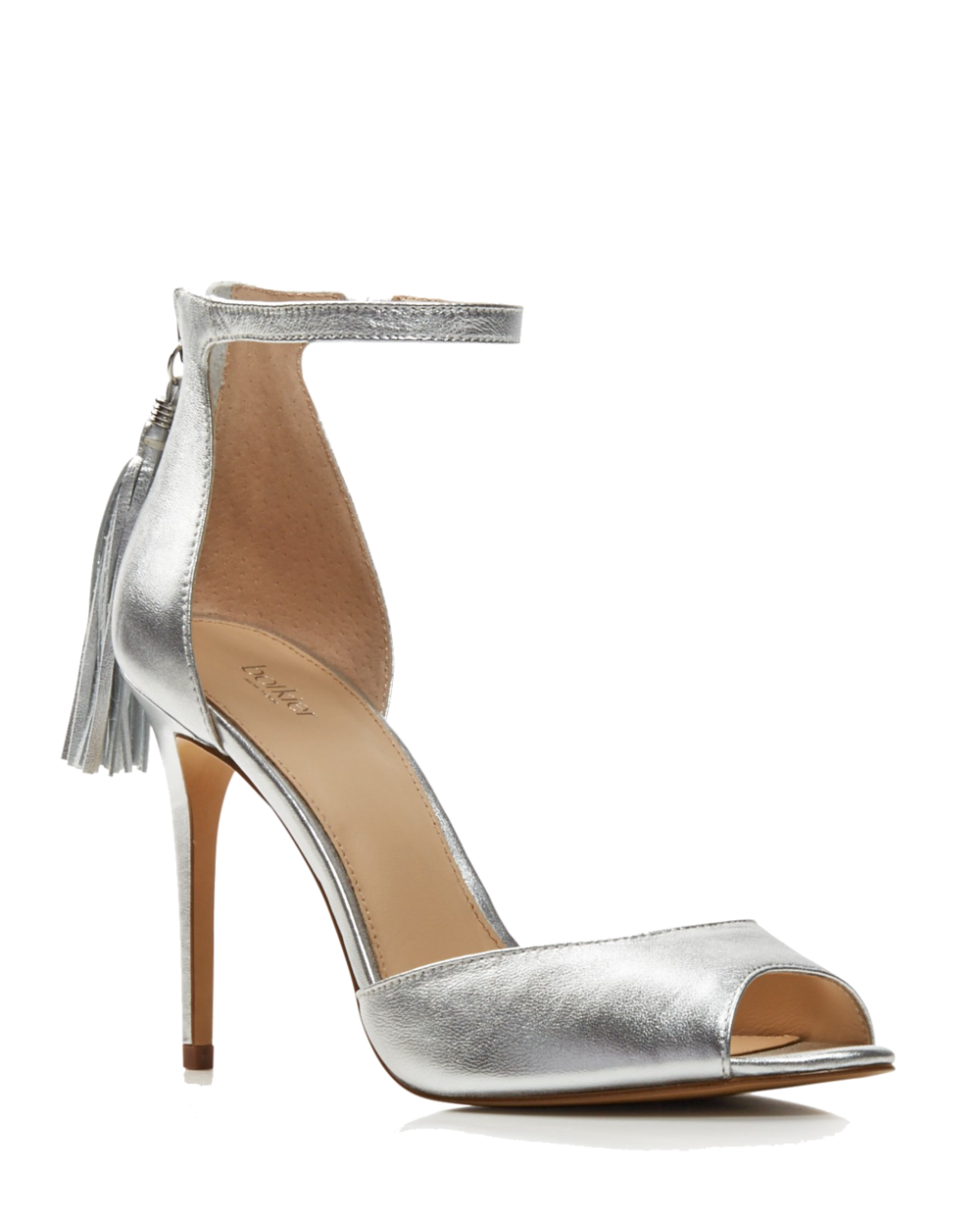 botkier silver leather heels