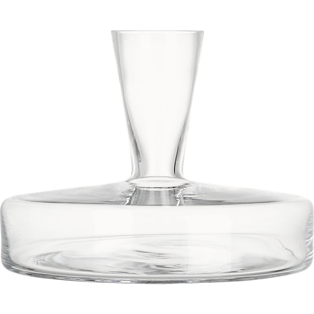 cb2 wine decanter
