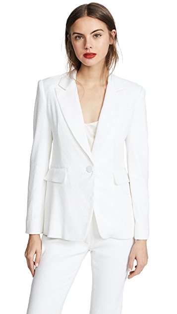 rachel zoe white blazer
