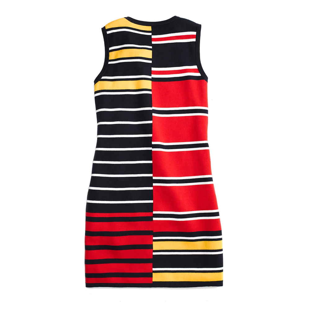 tommy hilfiger stripe shift dress