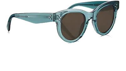 celine teal cat eye sunglasses