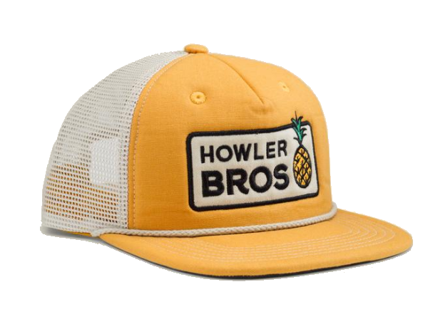 yellow howler bros hat