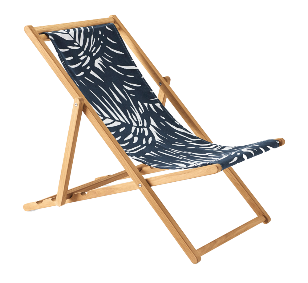serena & lily teak chair