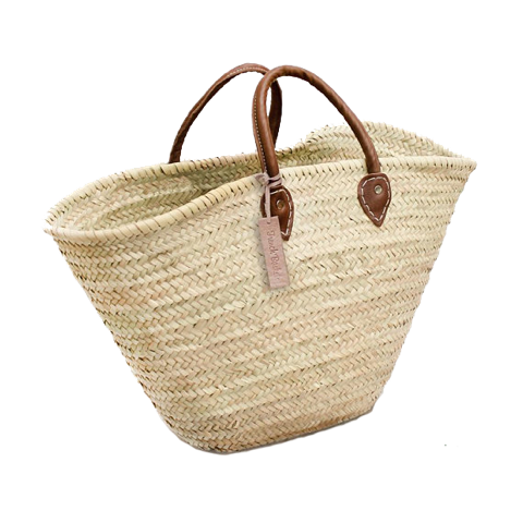 french market straw tote