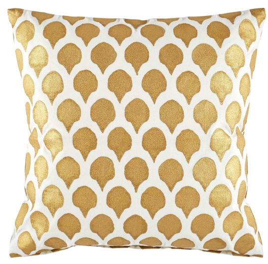 john robshaw gold pillow
