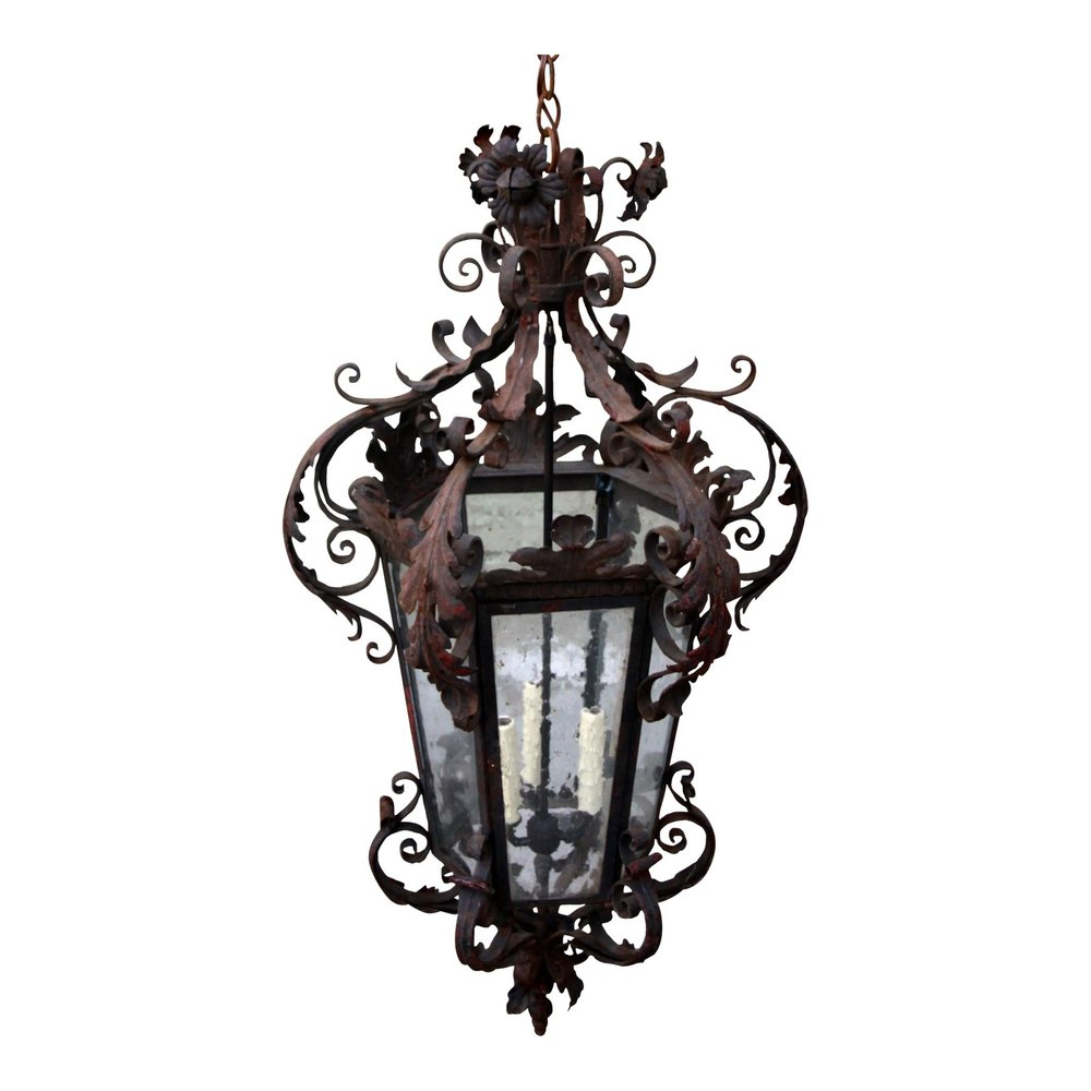 antique spanish lantern