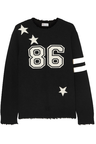 red valentino wool sweater