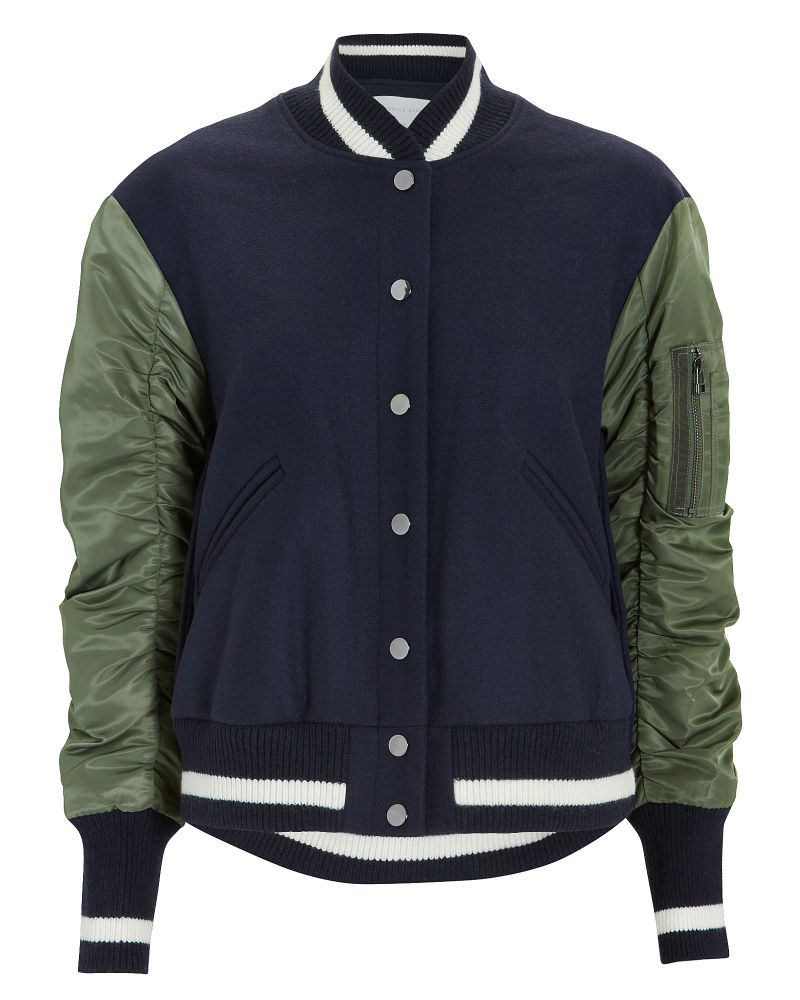 veronica beard bomber jacket
