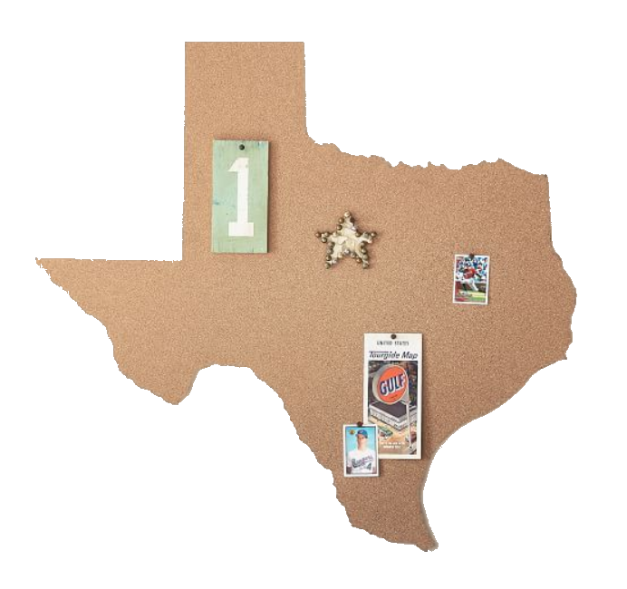 state cork board