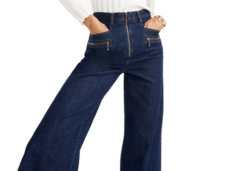 madewell wide leg jeans
