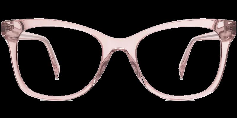 warby parker rose eyeglasses