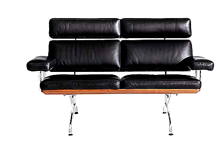 leather eames sofa