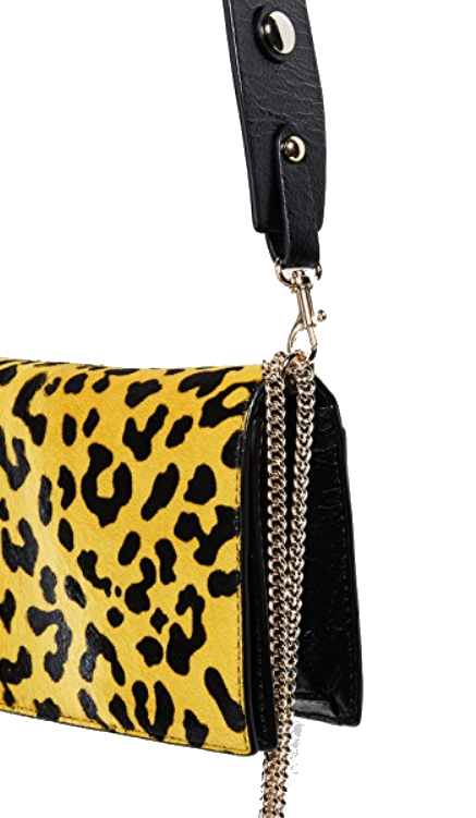 dvf yellow leopard crossbody