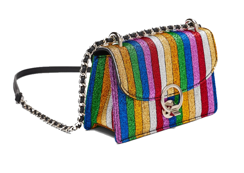 zara rainbow crossbody bag