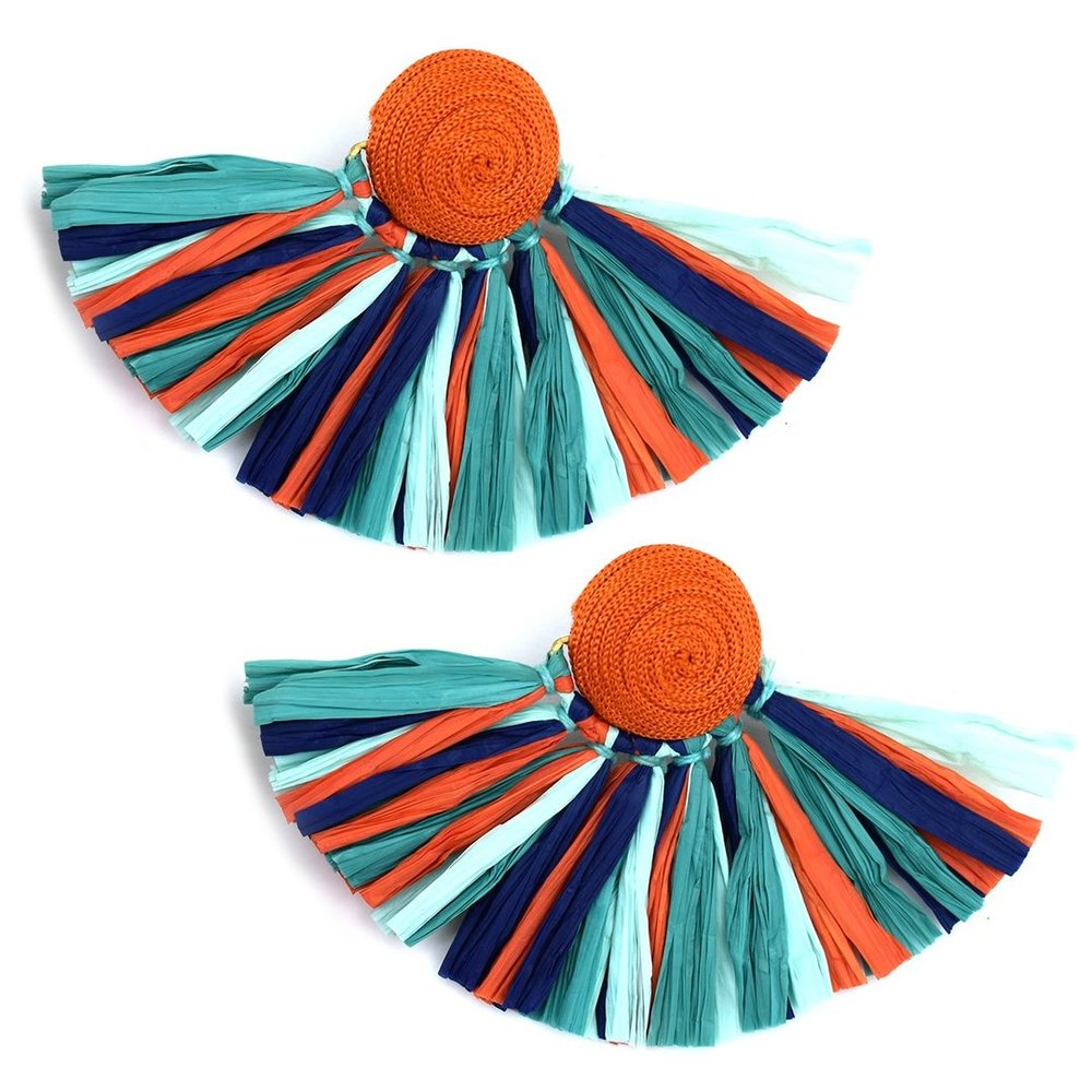 katie kime colorful earrings