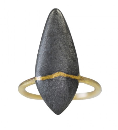 shaesby mixed metal ring