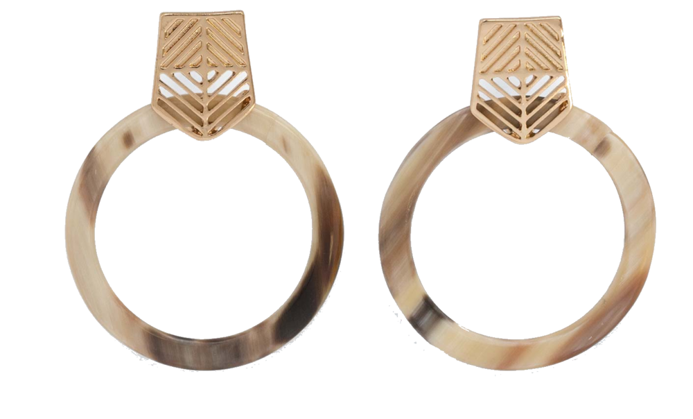 noonday collection hoop earrings