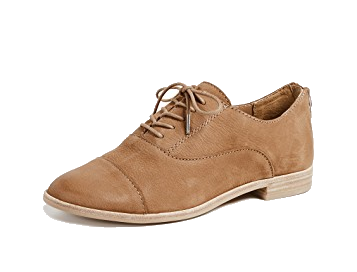 camel oxford shoes