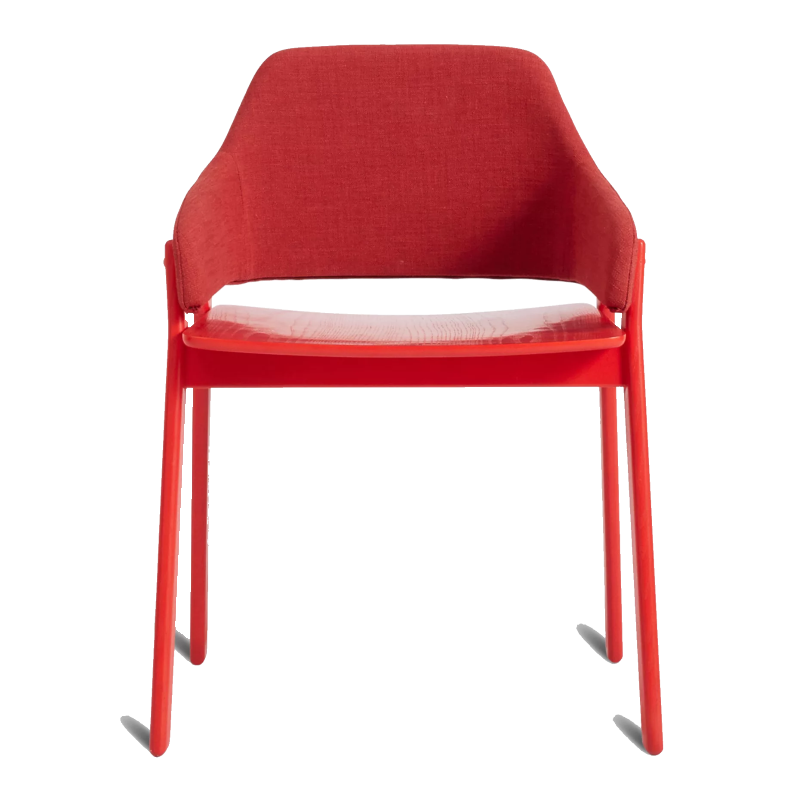blu dot red chair