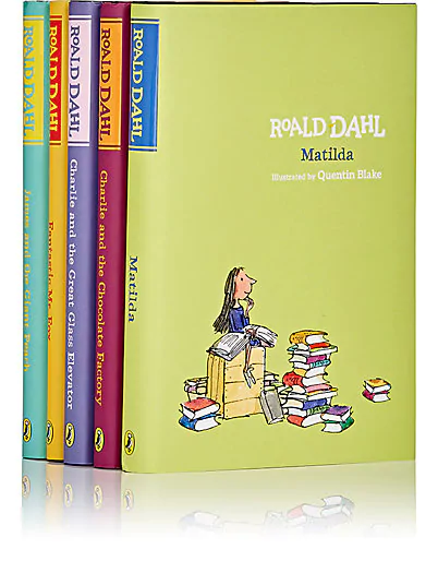 roald dahl 5-book set