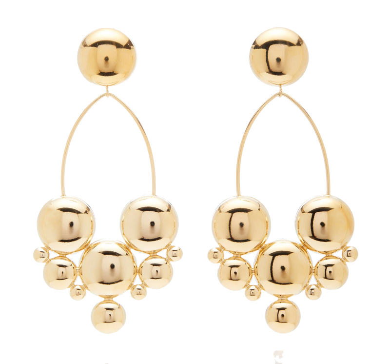 isabel marant gold earrings