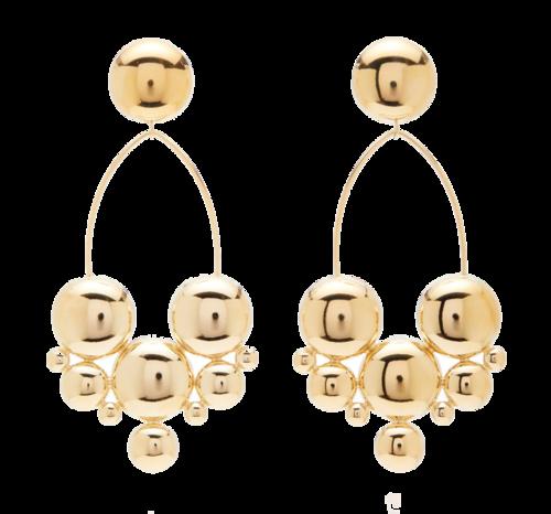 2306750bf isabel marant gold earrings