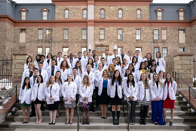 Regis University Pharmacy white coat ceremony, class of 2013 //Regis University